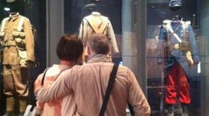 Enquête auprès des visiteurs de l'exposition Eté 1914 à la BNF